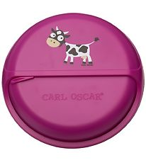 Carl Oscar Snackboks - BentoDISC - 18 cm - Purple Cow