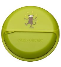 Carl Oscar Snackbox - BentoDISC - 18 cm - Lime Monkey