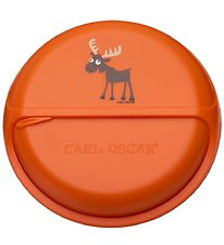 Carl Oscar Snackbox - BentoDISC - 18 cm - Orange Moose