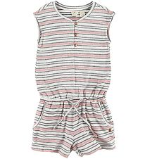 Roxy Jumpsuit - Big Memories - White Striped
