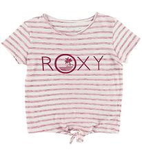 Roxy T-shirt - Some Love - White/Red Striped