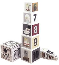 Kids by Friis Stacking Blocks - 10 pcs - Fairytale