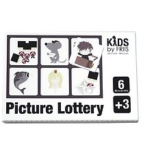 Kids by Friis Picture Lottery - 6 Plates - Fairytale