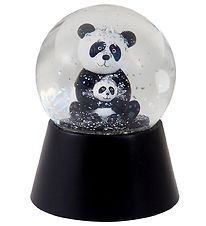 Kids by Friis Snow Globe w. Lights - D:11 cm - Panda