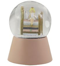 Kids by Friis Snow Globe w. Lights - D:11 cm - Princess And The