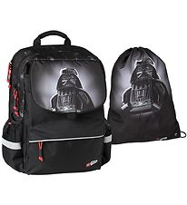 Lego School BackPack - Star Wars - Darth Vader - Black