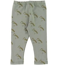 Gro Leggings - Malak - Seagrass w. Birds