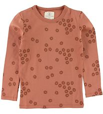 Gro Long Sleeve Top - Solar - Rose w. Flowers