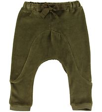Gro Trousers - Wilde - Velour - Root