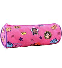 Lego Pencil Roll - Friends - Good Vibes - Pink