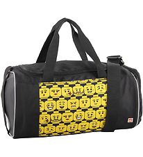 Lego Sports Bag - Minifigures - Heads - Black