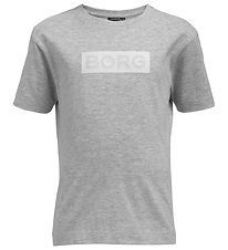 Björn Borg T-shirt - Sports - Grey Melange