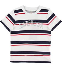 Timberland T-shirt - White w. Stripes