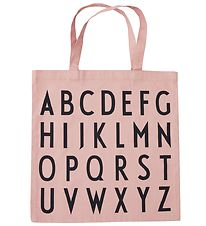 Design Letters Tote Bag - ABC - Rose
