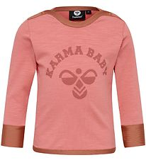 Hummel Long Sleeve Top - HMLLucy - Coral