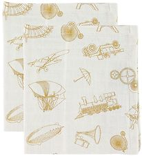 Cam Cam Muslin Cloth - 2-pack - Inventions