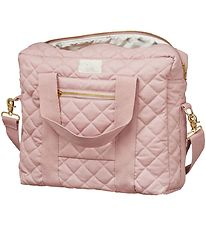Cam Cam Changing Bag - Long Zipper - Soft Rose
