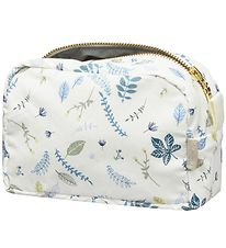 Cam Cam Toiletry Bag - Pressed Blue Leaves