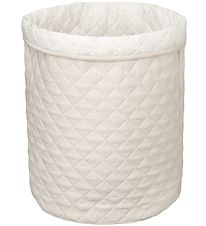 Cam Cam Storage Basket - 50x50 - Quilted - Light Sand