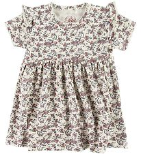 Petit by Sofie Schnoor Dress - Synne - Ivory w. Flowers