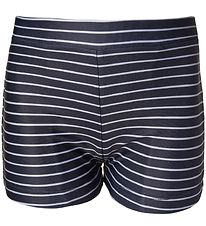 Melton Swim Trunks - UV50+ - Navy w. Stripes