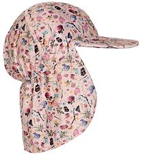 Melton Summer Hat - UV50+ - Rose w. Flowers