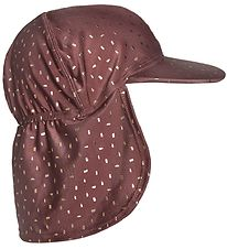 Melton Summer Hat - UV50+ - Bordeaux w. Gold