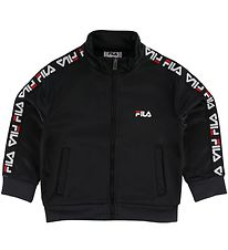 Fila Zip Cardigan - Talisa - Black