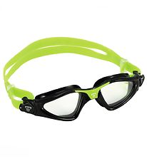 Aqua Sphere Swim Goggles - Kayenne Jr - Black/Neon Green