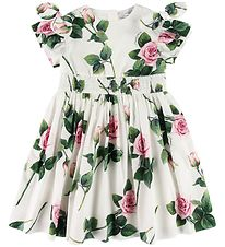 Dolce & Gabbana Dress - White w. Roses