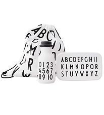 Design Letters Schoolstart Set - White