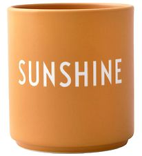 Design Letters Cup - Favourite Cup - Porcelain - Yellow Sunshine
