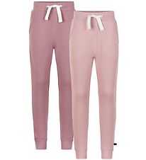 Minymo Sweatpants - 2-pack - Mesa Rose