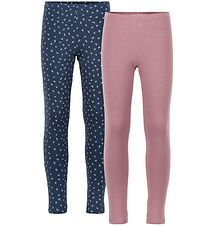 Minymo Leggings - 2-pack - Mesa Rose