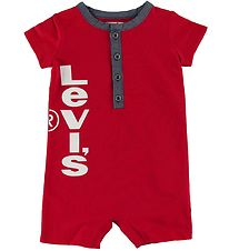 Levis Summer Romper - Red w. Logo