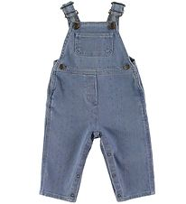 Bonton Overalls - Light Denim w. Stars