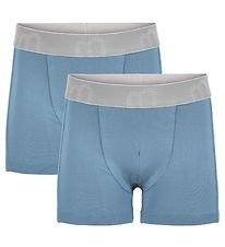 Minymo Boxers - 2-pack - Bamboo - Blue Heaven