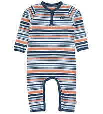 Minymo Jumpsuit - Insignia Blue w. Stripes
