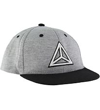 Nordic Label Cap - UV50+ - Baseball - Grey Melange