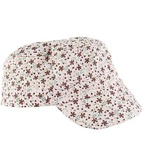 Nordic Label Cap - Worker - UV50+ - Pale Dogwood w. Flowers