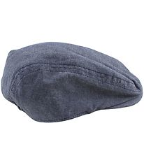 Nordic Label Flat Cap - UV50+ - Total Eclipse