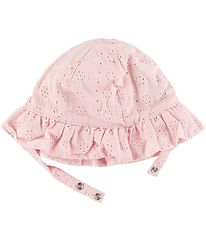 Nordic Label Sun Hat - Rose w. Pointelle
