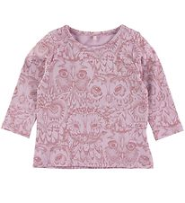 Soft Gallery Long Sleeve Top - Baby Bella - Lavender w. Owls