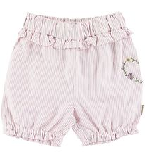 Hust and Claire Shorts - Hortensia - White/Rose Striped