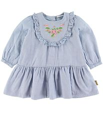 Hust and Claire Dress - Kriss - Blue Melange w. Flowers