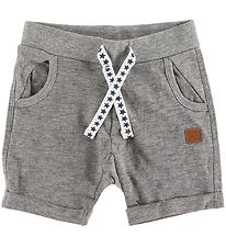 Hust and Claire Shorts - Holger - Grey Melange