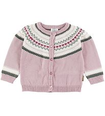 Hust and Claire Cardigan - Charm - Rose w. Pattern