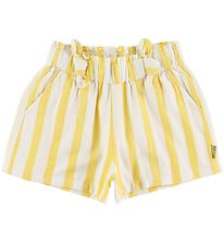 Hust and Claire Shorts - Hallie - Yellow/White Striped