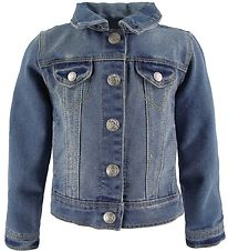 Name It Denim Jacket - Star - Noos  - Medium Blue Denim
