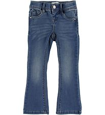 Name It Jeans - Polly Bootcut - Noos - Medium Blue Denim